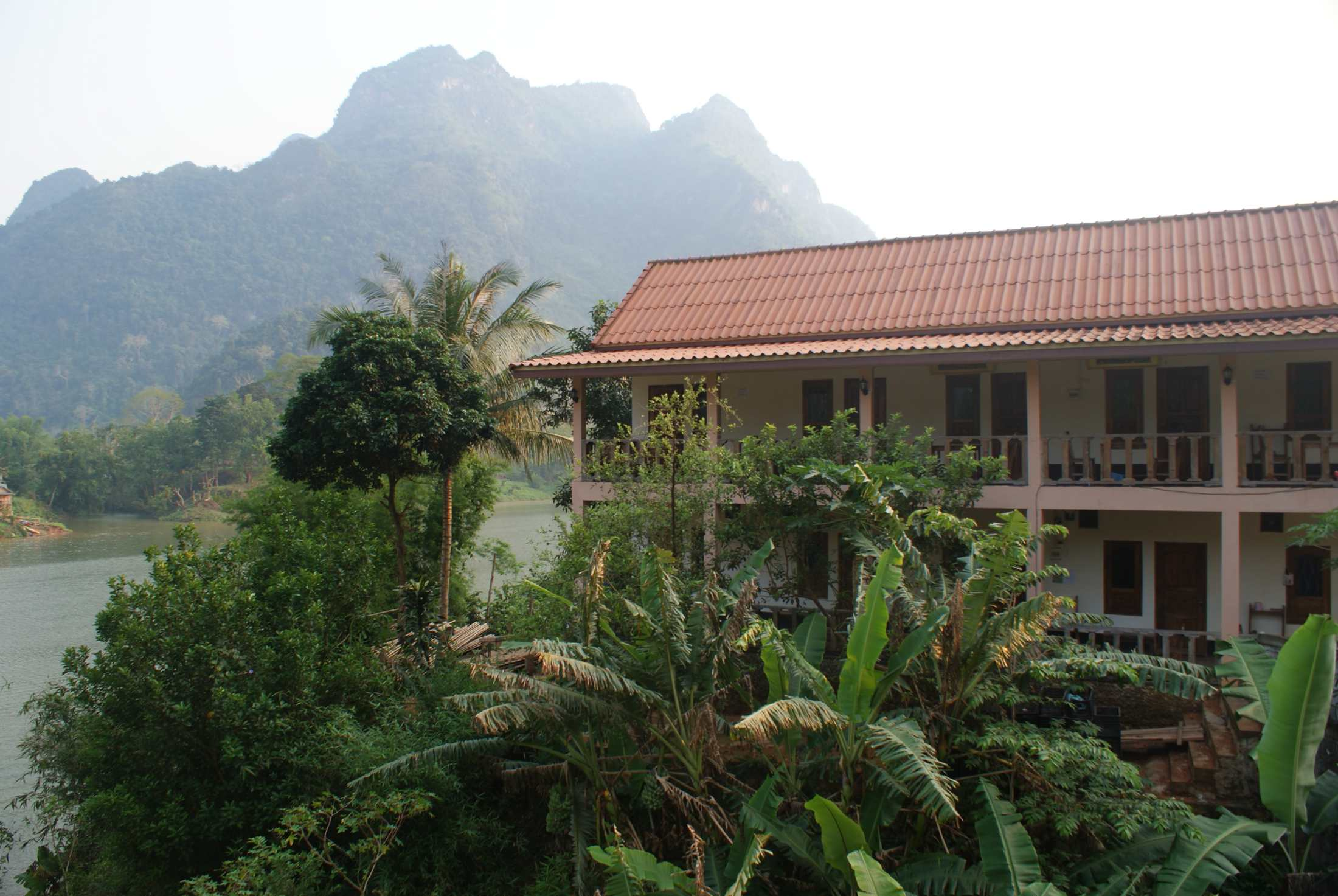 Our guesthouse in Nong Khiaw